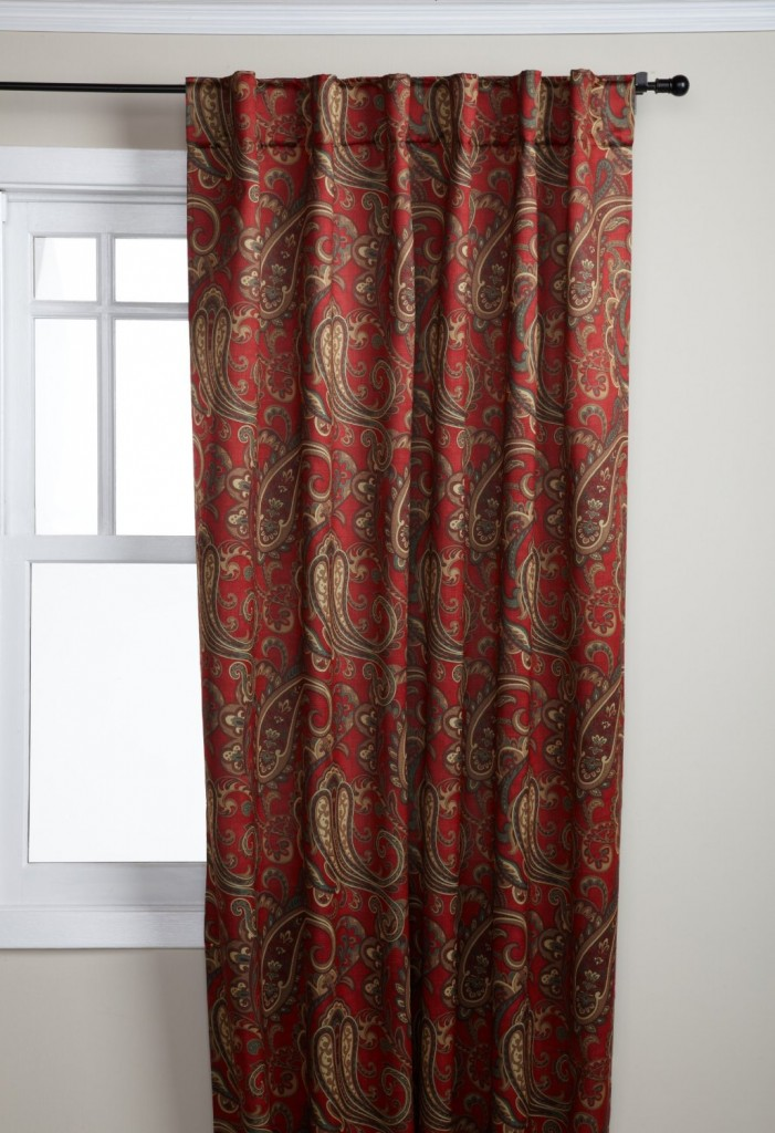 Paisley Curtains For That Perfect Look